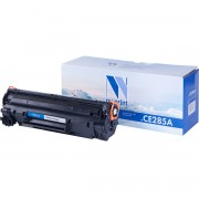 Картридж NV Print CE285A (85A)/ Cartridge 725 для HP/ Canon Black/ Черный