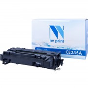 Картридж NV Print CE255A (55A)/ Cartridge 724 для HP/ Canon Black/ Черный