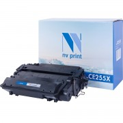 Картридж NV Print CE255X (55X)/ Cartridge 724 H для HP/ Canon Black/ Черный