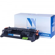 Картридж NV Print CE505A (05A)/ Cartridge 719 для HP/ Canon Black/ Черный