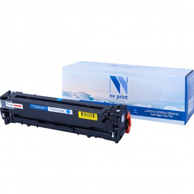 Картридж NV Print CF211A/ CE321A/ CB541A/ Cartridge 716/ Cartridge 731 Cyan/Голубой для HP/ Canon