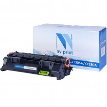 Картридж NV Print CE505A (05A)/ CF280A (80A)/ Cartridge 719 для HP/ Canon Black/ Черный