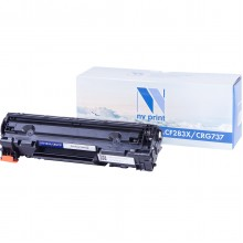 Картридж NV Print CF283X (83X)/ Cartridge 737 Black/ Черный для НР/ Canon