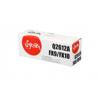 Картридж Sakura Cartridge FX-10 (0263B002)/ Q2612A (12A)/ 703 для Canon/ HP Black/ Черный
